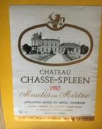 6155 - Château Chasse-Spleen 1982 Moulis En Médoc - Bordeaux