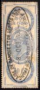 06571 Bélgica Effet De Commerce Gree En Pays Etranger Payable En Belgique - Revenue Stamps