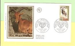 2036.11. FDC 1er Jour 1969. 11 Octobre. Mouflon. Cote 2013... 1.80 €. Ttb. PAF*+ PROMO - FDC