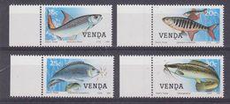 Venda 1987 Fishes 4v ** Mnh (37164D) - Venda