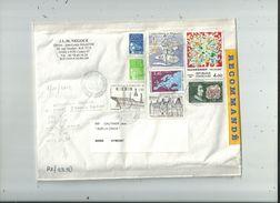 1LR2  Avec 8 Timbres Divers En Francs  (dont 2 De St  Pierre Et Miquelon) Affranchie à 23.50 Fr....le 8/11/2002...à Voir - 1961-....