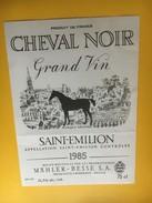 6170 - Cheval Noir 1985 St-Emilion - Bordeaux