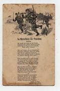 CPA Carte Double Militaria La Marseillaise Des Tranchées Amélie De Néry Ente Au Profit Du Tricot Du Soldat - Guerra 1914-18