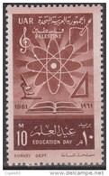 Palestine N° UAR 22 *** Education Day - 1961 - Palestine