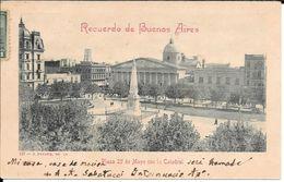 A. ANTONIO SABATUCCI INTERNUNCIO APOSTOLICO EN ARGENTINA (1900-1906) OBISPO BISHOP IGLESIA CATOLICA APOSTOLICA Y ROMANA - Autografi