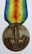 WWI - MEDAGLIA - VITTORIA INTERALLEATA - ITALIA (Inter - Allied Victory) / Nastro Originale - Italia