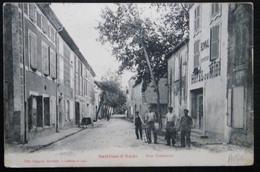 CPA SALLELES-D'AUDE RUE CONDORCET - Salleles D'Aude
