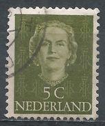 Netherlands 1949. Scott #306 (U) Queen Juliana - 1949-1980 (Juliana)