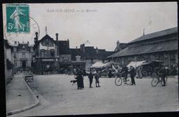 CPA BAR-SUR-SEINE LE MARCHE - Bar-sur-Seine