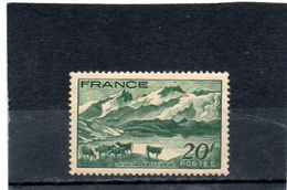 FRANCE    20 F   1943      Y&T:582   Neuf Avec Charnière - Francia