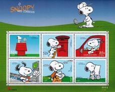 MBB-BK1-541 MDKH MSP  MINT PF/MNH ¤ PORTUGAL 2004 4w In Serie  ¤ CARTOONS - SNOOPY - DOGS - GOLF - Kindertijd & Jeugd