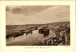 27 - LES ANDELYS - Planche Sépia - La Vallée De La Seine  - Cliché Briquet 1935 - Alte Papiere