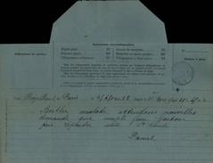 50 - LA HAYE-PESNEL - Télégramme De 1900 - Vieux Papiers