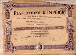 Plantations D'Impérie - Textile