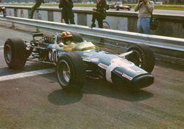 Grand Prix D'Italie  -  Monza 1968  -  Pilote: Joseph Siffert - Lotus-Ford F1 V8  -  CP - Grand Prix / F1