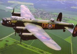 Avro Lancaster PA474 'City Of Lincoln'  -  CPM - 1939-1945: 2ème Guerre