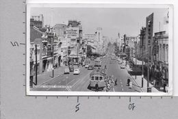CARTOLINA VG AUSTRALIA - MELBOURNE - Bourke Street - 9 X 14 - ANN. 1959 - Melbourne