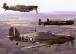 Hurricane, Spitfire Et Lancaster  -  CPM - 1939-1945: 2ème Guerre