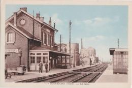 Cpa BOURBOURG - La Gare - Autres Communes