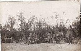 CP Photo Aout 1916 Position Allemande Entre BUCQUOY Et ABLAINZEVELLE (A185, Ww1, Wk 1) - Andere Gemeenten