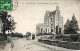 35. Saint Enogat. Le Boulevard Et La Villa Ker Laumec - France