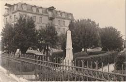 LE JARDIN PUBLIC - LE MONUMENT AUX MORTS - L'ANCIEN MOULIN - BELLE CARTE PHOTO -  TOP !!! - Bar-sur-Seine