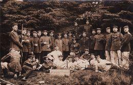 CP Photo ELSENBORN - Soldats Allemands (A185, Ww1, Wk 1) - Elsenborn (camp)