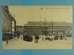 Liège Palais De Justice Et Place Saint-Lambert (tram) - Liege