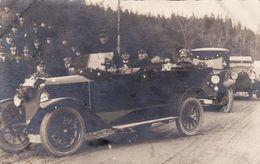 "CP Photo CHEMNITZ - Automobile, ""Atelier Hugo Frank"" (A185, Ww1, Wk 1) - Passenger Cars"