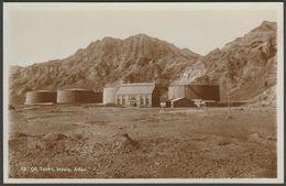 Oil Tanks, Maala, Aden, C.1910s - Pallonjee, Dinshaw & Co RP Postcard - Yemen
