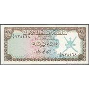 TWN - MUSCAT & OMAN 1a - 100 Baiza 1970 UNC - Banconote