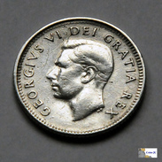 Canada - 10 Cents - 1952 - Canada