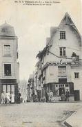 D.B. Thouars (Deux-Sèvres) - Rue Du Château Et Vieille Maison Du XVe Siècle - Carte Animée Dando Berry N° 60 - Thouars