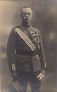 Photo Format CP Officier Militaire Italien Médaille Décoration Par Alinari - Guerre, Militaire