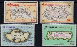 A5120 JAMAICA 1976,  SG 411-4  16th Century Maps Of Jamaica,  MNH - Jamaique (1962-...)