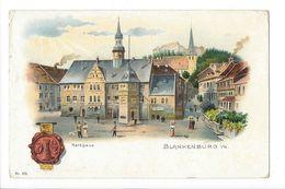 18577-  Blankenburg Rathhaus - Blankenburg
