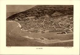 76 - LE HAVRE - Planche Sépia - Cliché Port Autonome 1935 - 1800 – 1899