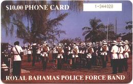 BAHAMAS PHONECARD, POLICE BAND - Bahamas