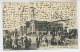 ROYAUME UNI - ENGLAND - KENT - MARGATE - The Jetty Entrance - Margate
