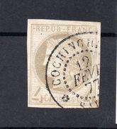 !!! PRIX FIXE : COLO GENERALES, N°16 OBLITERE COCHINCHINE ( INDOCHINE ) 1ER CHOIX - Cérès