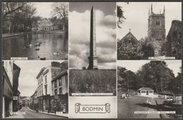 Multiview, Bodmin, Cornwall, C.1960s - Overland Views RP Postcard - England