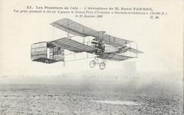 Les Pionniers De L'air: L'Aéroplane De Henri Farman, 1er Grand Prix D'Aviation Deutsch-Archdeacon 1908 - ....-1914: Précurseurs