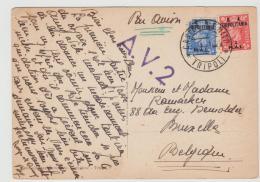 IKL013 A /iTALIEN -LlIBYEN -  Unter Engl. Verwaltung 1951 Mit A.V. 2 Stempel - Libye