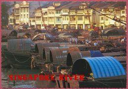 Collection-Singapore (UNC) Old 1969-75 RIVER Sampans - A&T INTERNATIONAL (PTE) LTD N° AT 69 - S'pore-cpc - Singapore