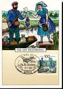 BRD 1570  Tag Der Briefmarke 1 Maximumkarte Used Gestempelt - Maximum Cards