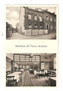CPA ARZHEIM B. KOBLENZ Gasthaus W Thurn Auberge 2 Vues  Peu Commune - Koblenz