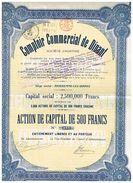 Action Ancienne - Comptoir Commercial De Dinant - Titre De 1925 - - Banque & Assurance