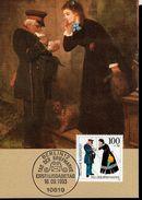 BRD 1692 Tag Der Briefmarke 1 Maximumkarte Used Gestempelt - BRD