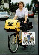 BRD 1814 Tag Der Briefmarke 1 Maximumkarte Used Gestempelt - BRD