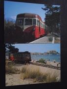 CORSE - MICHELINE Dans La BALAGNE - De CALVI à L'ÎLE-ROUSSE Par ALGAJOLA - Lot De 2 Cartes - Chemin De Fer - Non Voyagée - Trains